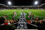 Rotherham 1 Sheffield Wednesday 2, 23/10/2015. New York Stadium, Championship. Second-half goals from Lucas Joao and Fernando Forestieri gave Sheffield Wednesday a derby victory at Rotherham. Rotherham fans wait for the teams. Photo by Paul Thompson.