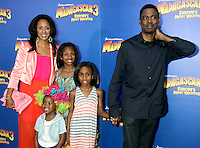 Chris Rock and family at the NY premiere of Madagascar 3: Europe's Most Wanted at the Ziegfeld Theatre in New York City. June 7, 2012. © RW/MediaPunch Inc.