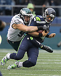 Seattle Seahawks  Philadelphia Eagles<br /> at CenturyLink Field in Seattle, Washington on November 20, 2016.  Seahawks beat the Eagles 26-15.  &copy;2016. Jim Bryant Photo. All Rights Reserved.