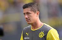 FUSSBALL   1. BUNDESLIGA   SAISON 2013/2014   SUPERCUP Borussia Dortmund - FC Bayern Muenchen           27.07.2013 Robert Lewandowski (Borussia Dortmund)