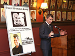 Mike Isaacson attends the The Robert Whitehead Award presented to Mike Isaacson at Sardi's on May 10, 2017 in New York City.