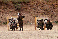 California National Guard training target practice.