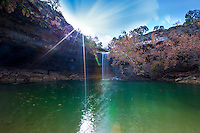 Hamilton Pool Nature Preserve - Natural Waterfall Cave Pool Photo Image Gallery