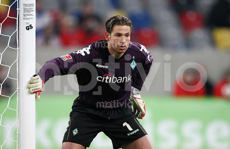 FUSSBALL     1. BUNDESLIGA     SAISON 2007/2008 Torwart Tim WIESE (SV Werder Bremen)
