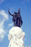 Blaboa Monument or Monumento Vasco Nunez de Balboa in Panama City, Panama