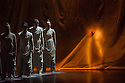 London, UK. 15.04.2014. National Youth Dance Company present the world premiere of RASHOMON EFFECT/ VERTICAL ROAD, at Sadler's Wells. Guest Artistic Director for 2014 is Akram Khan. The dancers range in age from 16 - 19. Picture shows: Vertical Road. Photograph © Jane Hobson.
