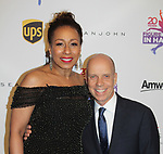 As The World Turns' Tamara Tunie and Scott Hamilton - Figure Skating in Harlem celebrates 20 years - Champions in Life benefit Gala on May 2, 2017 as As The World Turns' Tamara Tunie at 583 Park Avenue, New York City, New York. (Photo by Sue Coflin/Max Photos)