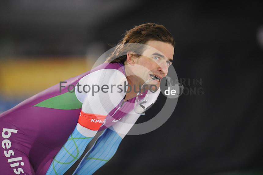 SCHAATSEN: AMSTERDAM: Olympisch Stadion, 28-02-2014, KPN NK Sprint/Allround, Coolste Baan van Nederland, Mark Tuitert, ©foto Martin de Jong