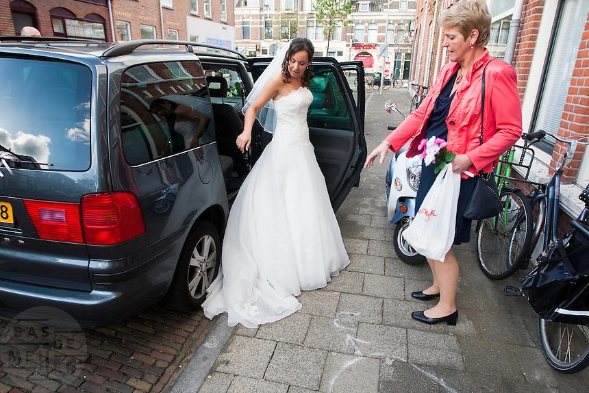 Bruid bride bas fotografie