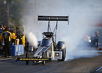 Jun 3, 2016; Epping , NH, USA; NHRA top fuel driver Tony Schumacher during qualifying for the New England Nationals at New England Dragway. Mandatory Credit: Mark J. Rebilas-USA TODAY Sports