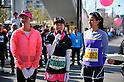 L to R Jessica Michibata, Misako Yasuda, Rie Hasegawa,.MARCH 11, 2011 - Marathon : Nagoya Women's Marathon 2012 Start & Goal at Nagoya Dome, Aichi, Japan. (Photo by Jun Tsukida/AFLO SPORT)[0003].
