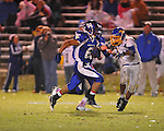 Water Valley's Brandon Bounds (6) scores vs. Mantachie in high school football action in Water Valley, Miss. on Friday, October 26, 2012. Water Valley won 56-3.
