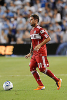 Daniel Paladini Chicago Fire...Sporting KC were held to a scoreless tie with Chicago Fire in the inauguarl game at LIVESTRONG Sporting Park, Kansas City, Kansas.