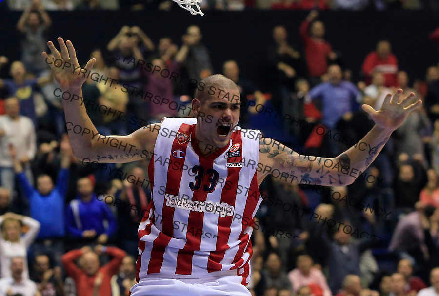 Kosarka Euroleague season 2015-2016<br /> Euroleague <br /> Crvena Zvezda v Real Madrid<br /> Maik Zirbes <br /> Beograd, 27.11.2015.<br /> foto: Srdjan Stevanovic/Starsportphoto &copy;