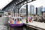 Aquabus, the public water taxi system in Vancouver, British Columbia, is a great way to see the city or be shuttled from Granville Island to the main area of downtown Vancouver.