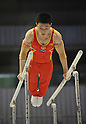 Liao Qiuhua (CHN), JULY 2nd, 2011 - Artistic Gymnastics : JAPAN CUP 2011, Men's Team competition at Tokyo Metropolitan gymnasium, Tokyo, Japan. .(Photo by Atsushi Tomura/AFLO SPORT) [1035].