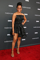 BURBANK, CA - AUGUST 29: Dawn-Lyen Gardner<br />at the Premiere Of OWN's &quot;Queen Sugar,&quot; Warner Brothers Studios, Burbank, CA 08-29-16Credit:  David Edwards/MediaPunch