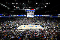 PITTSBURGH, PA - MARCH 19:  A general view of the Villanova Wildcats playing the Lafayette Leopards in the second half during the second round of the 2015 NCAA Men's Basketball Tournament at Consol Energy Center on March 19, 2015 in Pittsburgh, Pennsylvania.  (Photo by Jared Wickerham/Getty Images)