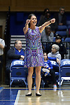 29 January 2017: Duke head coach Joanne P. McCallie. The Duke University Blue Devils hosted the Old Dominion University Monarchs at Cameron Indoor Stadium in Durham, North Carolina in a 2016-17 Division I Women's Basketball game. Duke won the game 71-43.