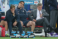 Dejected  England Manager Roy Hodgson and england Bench