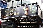 'Thérèse Raquin' - Theatre Marquee