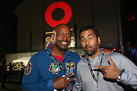 NEW YORK, NY - SEPTEMBER 24, 2016 US Astronaut & Kal Penn backstage at the Global Citizen Festival, September 24, 2016 in New York City. Photo Credit: Walik Goshorn / Mediapunch