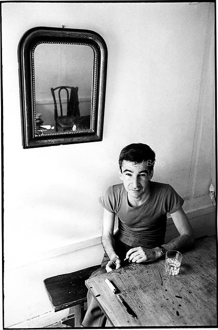 Copi, Raul Damonte Botana (1939-1987) at home in Paris.