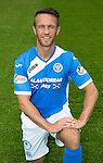 St Johnstone FC photocall Season 2016-17<br />Chris Millar<br />Picture by Graeme Hart.<br />Copyright Perthshire Picture Agency<br />Tel: 01738 623350  Mobile: 07990 594431