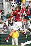 11 November 2008: Virginia Tech's James Shupp. North Carolina State University Wolfpack defeated the Virginia Tech Hokies 3-1 at Koka Booth Stadium at WakeMed Soccer Park in Cary, NC in a men's ACC tournament first round game.