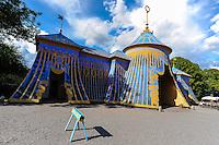 "Sweden. Hagaparken (""Haga Park""), or simply Haga in Solna just north of Stockholm. The Copper Tents."