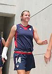 30 July 2006: Amy LePeilbet (USA). The United States Women's National Team defeated Canada 2-0 at SAS Stadium in Cary, North Carolina in an international friendly soccer match.