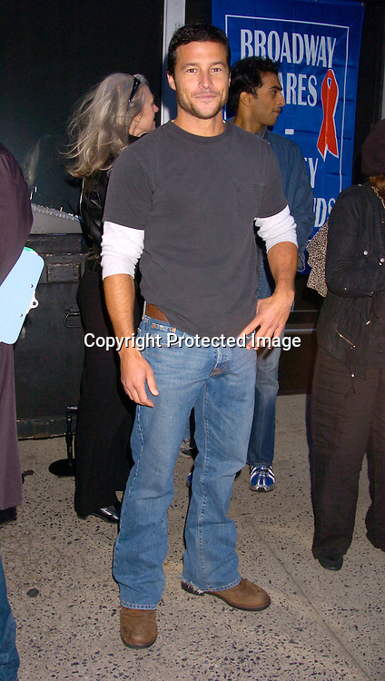 Mark Collier ..at the Broadway Cares/ Equity Fights Aids Flea Market and Grand Auction on September 19, 2004 in Shubert Alley...Photo by Robin Platzer, Twin Images