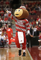 Brutus Buckeye during the first half against against North Florida, Friday, Nov. 29, 2013, in Columbus, Ohio. (Photo by Terry Gilliam)