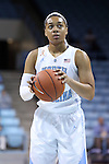 21 November 2013: North Carolina's Allisha Gray. The University of North Carolina Tar Heels played the Coastal Carolina University Chanticleers in an NCAA Division I women's basketball game at Carmichael Arena in Chapel Hill, North Carolina. UNC won the game 106-52.