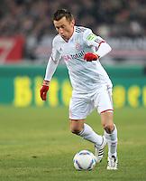 FUSSBALL   DFB POKAL   SAISON 2011/2012   VIERTELFINALE VfB Stuttgart - FC Bayern Muenchen                      08.02.2012 Ivica Olic (FC Bayern Muenchen)