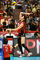 Maiko Kano (JPN), .May 26, 2012 - Volleyball : .FIVB Women's Volleyball World Final Qualification for the London Olympics 2012 .match between Japan 0-3 Russia .at Tokyo Metropolitan Gymnasium, Tokyo, Japan. .(Photo by Daiju Kitamura/AFLO SPORT) [1045]