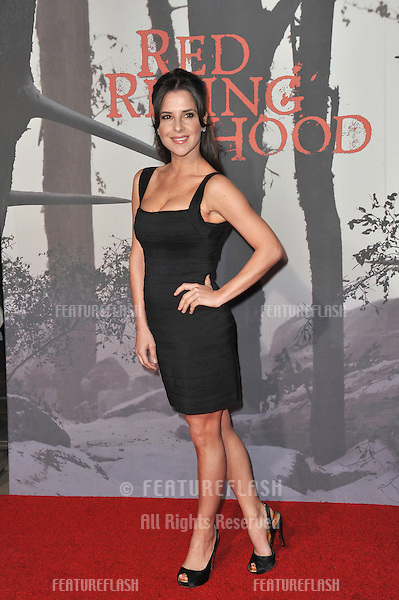 "Kelly Monaco at the Los Angeles premiere of ""Red Riding Hood"" at Grauman's Chinese Theatre, Hollywood..March 7, 2011  Los Angeles, CA.Picture: Paul Smith / Featureflash"