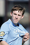 14 December 2008: Billy Schuler (10) of North Carolina.  The University of Maryland Terrapins defeated the University of North Carolina Tar Heels 1-0 at Pizza Hut Park in Frisco, TX in the championship game of the 2008 NCAA Division I Men's College Cup.