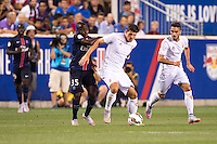 Harrison, NJ - July 21, 2015:  Paris Saint-Germain defeated Fiorentina 4-2 during the International Champions Cup at Red Bull Arena.