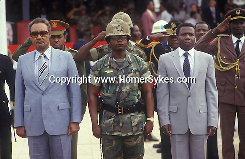 Samuel Kanyon Doe (May 6, 1951 - September 9, 1990) was the 21st President of Liberia, serving from 1986 until his assassination in 1990. He had previously served as Chairman of the People's Redemption Council from 1980 to 1986. He was the first indigenous head of state in Liberian history