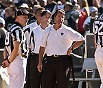 Raiders head coach Bill Callahan on Sunday, September 14, 2003, in Oakland, California. The Raiders defeated the Bengals 23-20.