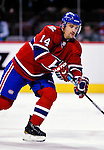 22 March 2010: Montreal Canadiens' center Tomas Plekanec warms up prior to a game against the Ottawa Senators at the Bell Centre in Montreal, Quebec, Canada. The Senators shut out the Canadiens 2-0 in their last meeting of the regular season. Mandatory Credit: Ed Wolfstein Photo
