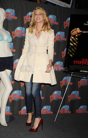 Amber Heard visits Planet Hollywood in New York City. October 13, 2009 . Credit: Dennis Van Tine/MediaPunch