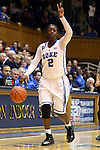 02 January 2014: Duke's Alexis Jones. The Duke University Blue Devils played the Old Dominion University Lady Monarchs in an NCAA Division I women's basketball game at Cameron Indoor Stadium in Durham, North Carolina. Duke won the game 87-63.