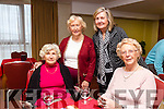 At the Bridge Congress  weekend at the Manor West Hotel on Saturday were Iris Seymour, Margaret Coyle, Ursula Heather, Christine Kerley