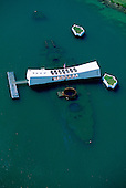 Arizona Memorial, Pearl Harbor, Honolulu, Oahu, Hawaii, USA<br />