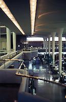 F.L. Wright: S. C. Johnson & Son Building. (Balcony)  Photo '77.