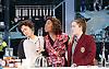 Linda <br /> by Penelope Skinner <br /> directed by Michael Longhurst <br /> at The Royal Court Theatre, London, Great Britain <br /> 30th November 2015 <br /> <br /> Nova Dumezweni as Linda <br /> <br /> Karla Crome as Alice <br /> <br /> Imogen Byron as Bridget <br /> <br /> <br /> <br /> <br /> Photograph by Elliott Franks <br /> Image licensed to Elliott Franks Photography Services