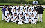 5-20-16, Pioneer High School varsity baseball team