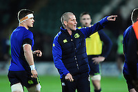 Leinster Rugby Senior Coach Stuart Lancaster. European Rugby Champions Cup match, between Northampton Saints and Leinster Rugby on December 9, 2016 at Franklin's Gardens in Northampton, England. Photo by: Patrick Khachfe / JMP